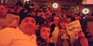Talbot Family attended Christmas Spectacular Starring the Radio City Rockettes - 2pm Afternoon on Dec 31st 2018 via VetTix