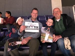 Jim attended Phoenix Suns vs. Philadelphia 76ers - NBA on Jan 2nd 2019 via VetTix