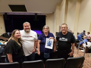 JAMES attended Jay Leno Live In Concert on Jan 5th 2019 via VetTix