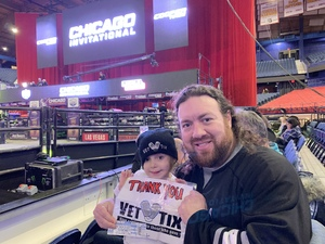 Jeremy attended PBR - Unleash the Beast - Sunday Performance Only on Jan 13th 2019 via VetTix