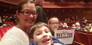 Tiffany attended A Space Odyssey - Matinee - Presented by the Philadelphia Orchestra on Feb 15th 2019 via VetTix