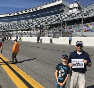 Click To Read More Feedback from 61st Annual Monster Energy NASCAR Cup Series Daytona 500 With Fanzone Access! - * See Notes
