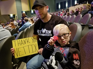 Kyle attended Wild Kingdoms Peter Gros (w/live Animals) on Feb 8th 2019 via VetTix