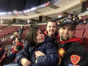 Gary attended Ohio State Buckeyes vs. Michigan State University - NCAA Hockey on Mar 1st 2019 via VetTix