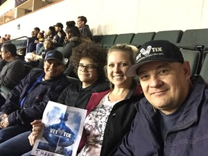 Val attended Oklahoma City Blue vs. Austin Spurs - NBA G - League Basketball on Feb 8th 2019 via VetTix