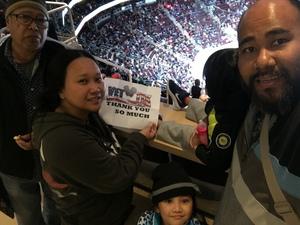 Jerome attended Arizona Coyotes vs. Columbus Blue Jackets - NHL on Feb 7th 2019 via VetTix