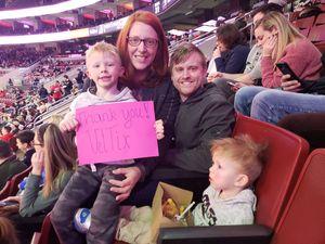 Knouse Family attended Philadelphia Wings vs. Colorado Mammoth - National Lacrosse League on Feb 9th 2019 via VetTix