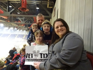 Michael attended 2019 Traxxas Monster Truck Tour - Evening Performance on Feb 16th 2019 via VetTix