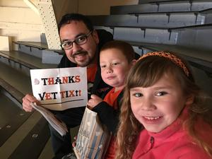 jacob attended Oregon State Beavers vs. Oregon - NCAA Men's Basketball on Feb 16th 2019 via VetTix
