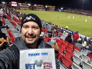 Rick attended 2019 Mobile Mini Sun Cup: Phoenix Rising vs. Real Salt Lake - USL on Feb 16th 2019 via VetTix