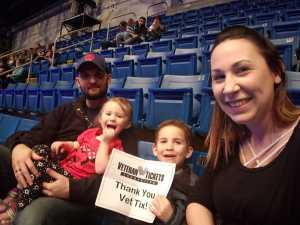 Samantha attended Disney On Ice: Worlds of Enchantment on Mar 7th 2019 via VetTix