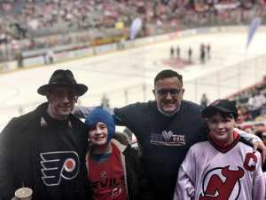 Paul attended New Jersey Devils vs. Philadelphia Flyers - NHL on Mar 1st 2019 via VetTix