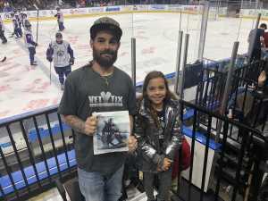 Amanda attended Jacksonville Icemen vs. Florida Everblades - ECHL on Mar 3rd 2019 via VetTix