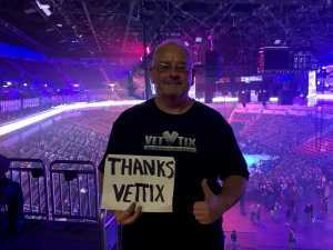Eric L. attended Metallica - Worldwired Tour on Mar 4th 2019 via VetTix