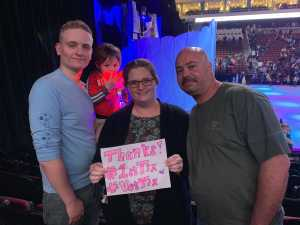Jeremy attended Disney on Ice presents: Dare to Dream on Mar 14th 2019 via VetTix