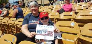 Tammy attended Chicago White Sox vs. Cleveland Indians - MLB - Spring Training on Mar 24th 2019 via VetTix