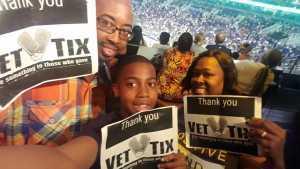 Roman attended Phoenix Suns vs. Detroit Pistons - NBA on Mar 21st 2019 via VetTix