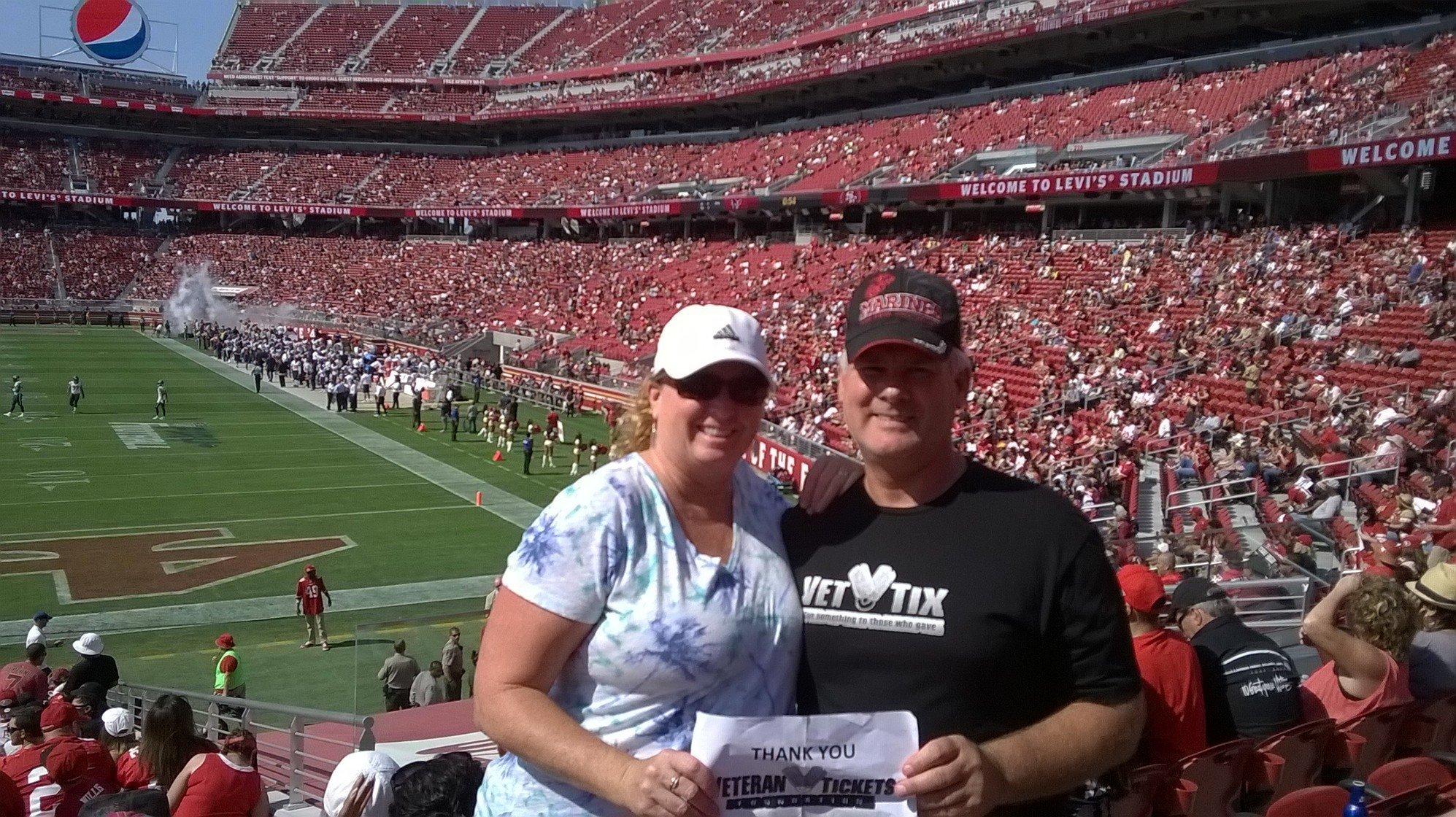 e77642f8407 Bill attended San Francisco 49ers vs. Houston Texans - NFL - Preseason on  Aug 14th
