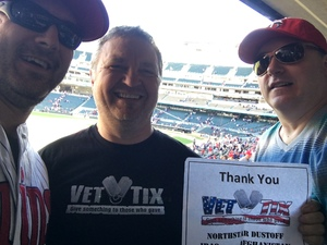Dan attended Minnesota Twins vs. Detroit Tigers - MLB on Apr 22nd 2017 via VetTix