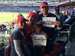 OJ attended Minnesota Twins vs. Detroit Tigers - MLB on Apr 22nd 2017 via VetTix