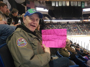 Paul Kelly DCC (SW) USN Ret attended Hartford Wolf Pack vs. Wilkes-barre Penguins - AHL on Apr 8th 2017 via VetTix