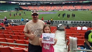 Brian attended DC United vs. Chicago Fire - MLS - Armed Forces Day on May 20th 2017 via VetTix