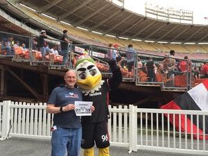 Andrew attended DC United vs. Chicago Fire - MLS - Armed Forces Day on May 20th 2017 via VetTix