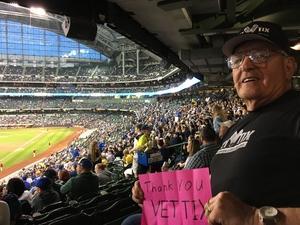 Jim Farmer attended Milwaukee Brewers vs. Cincinnati Reds - MLB on Apr 25th 2017 via VetTix
