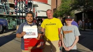 Charles attended Arizona Diamondbacks vs. San Francisco Giants - MLB on Apr 6th 2017 via VetTix