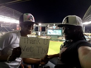 Thia attended Arizona Diamondbacks vs. San Francisco Giants - MLB on Apr 6th 2017 via VetTix