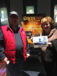 Jacob attended Circus 1903 - the Golden Age of Circus on Apr 7th 2017 via VetTix