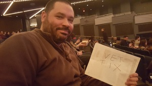 Jaime attended Circus 1903 - the Golden Age of Circus on Apr 7th 2017 via VetTix