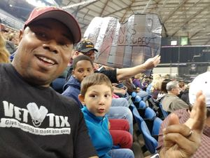 kevin attended PBR - 2017 Built Ford Tough Series on Apr 23rd 2017 via VetTix