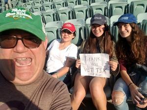 Robert attended Los Angeles Dodgers vs. Colorado Rockies - MLB on Apr 19th 2017 via VetTix