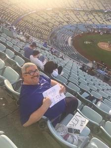 joel attended Los Angeles Dodgers vs. Colorado Rockies - MLB on Apr 19th 2017 via VetTix