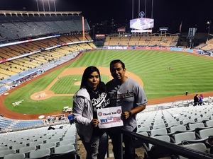 Cesar attended Los Angeles Dodgers vs. Colorado Rockies - MLB on Apr 19th 2017 via VetTix