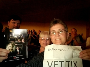 Jacquelyn (Jackie) attended Classics Eleven - Romeo and Juliet and Petrushka - Saturday on Apr 29th 2017 via VetTix