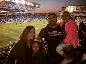 michael attended Philadelphia Union vs. New Yorkcity FC - MLS on Apr 14th 2017 via VetTix