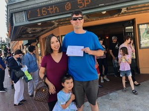 Anthony attended Snow White and the Seven Dwarfs on May 20th 2017 via VetTix