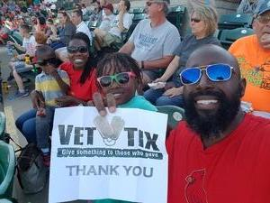 Kevin attended River City Rascals vs. Normal Cornbelters - MILB - Military Appreciation on May 13th 2017 via VetTix