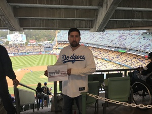Hugo attended Los Angeles Dodgers vs. Pittsburgh Pirates - MLB on May 9th 2017 via VetTix