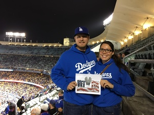 Ana attended Los Angeles Dodgers vs. Pittsburgh Pirates - MLB on May 9th 2017 via VetTix