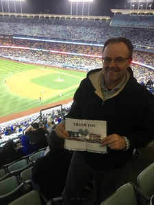 Clint attended Los Angeles Dodgers vs. Pittsburgh Pirates - MLB on May 9th 2017 via VetTix