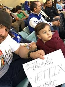 Daniel attended Los Angeles Dodgers vs. Pittsburgh Pirates - MLB on May 9th 2017 via VetTix