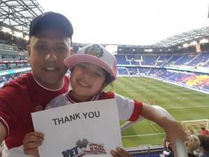 michel attended New York Red Bulls vs. Toronto FC - MLS on May 19th 2017 via VetTix