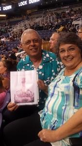 Ron attended Arizona Rattlers vs. Salt Lake Screaming Eagles - IFL on May 20th 2017 via VetTix
