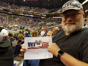 Christopher attended Arizona Rattlers vs. Salt Lake Screaming Eagles - IFL on May 20th 2017 via VetTix