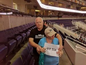 Leslie attended Arizona Rattlers vs. Salt Lake Screaming Eagles - IFL on May 20th 2017 via VetTix