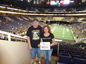 mitchell attended Arizona Rattlers vs. Salt Lake Screaming Eagles - IFL on May 20th 2017 via VetTix