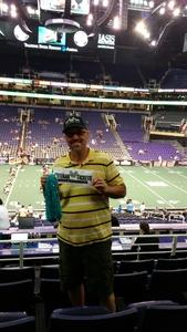 David attended Arizona Rattlers vs. Salt Lake Screaming Eagles - IFL on May 20th 2017 via VetTix